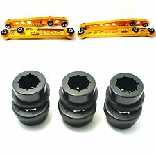 Replacement Bushings for Lower Control Arm LCA & Rear Camber Kit 6PC