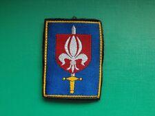 N°128 insigne militaire armée écusson patch badge régiment french army soldat