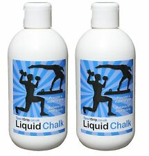 2 x Liquid Chalk - Gymnastics, Weight Lifting, Climbing, Racquet Sports & more