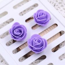 Mini Foam 3cm Roses- Wedding Craft Flower Party Decoration Favour- 9 Colours