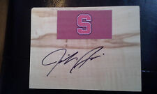 JENNIFER AZZI Stanford Womens Basketball WNBA signed Floor Tile FREE SHIPPING