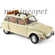 NOREV 181620 1970 CITROEN DYANE 6 1/18 DIECAST MODEL CAR ERABLE BEIGE