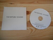 CD Pop The Rapture - Echoes (11 Song) Promo MOTOR VERTIGO