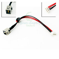 AC DC POWER JACK HARNESS FOR Toshiba Satellite C855-S5115 C855-S5118 C855-S5122