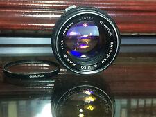 Olympus Zuiko 50-50mm f/1.4 Lens
