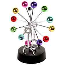 Cosmos Asteroid Perpetual Motion Desk Kinetic Newton's Cradle Idea Toy Art New