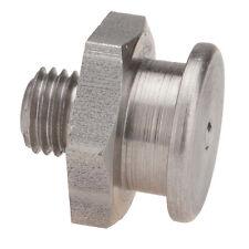 M8 x 1,0 [1 Stück] V2A DIN 3404 Ø16mm Flachschmiernippel NIRO