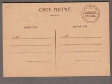 France unused post card Catre Postale etat Francais Courrier Officiel