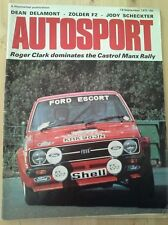 Autosport September 18th 1975 *Castrol Manx Rally*