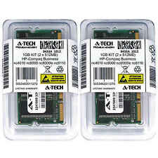 1GB KIT 2 x 512MB HP Compaq Business nc4010 nc6000 nc6000le nc6110 Ram Memory