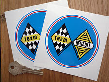 RENAULT TEAM autocollant de voiture de rallye de course ALPINE 5 TURBO