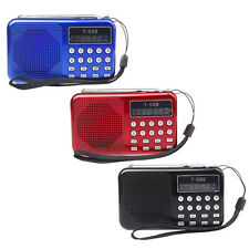 Universal Stereo Portable AM Radio TF Card Speaker FM Radio Digital Speakers NEW