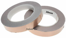 30mm Rame Nastro, Lumacone & Lumaca Repellente 30 metri rotolo UK chitarra EMI Shield