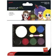 Fancy Dress Make Up 7 Colours Face Paint Palette #24410 New by Smiffys