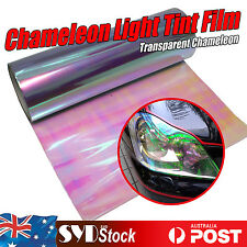 Transparent Chameleon 0.3 x 1M Car DIY Tint Film Wrap Tail Light Headlight Cover