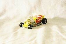 VINTAGE HOT WHEELS CAR - HOT ROD WITH FLAMES - MALAYSIA - 1988