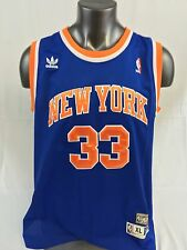 PATRICK EWING NEW YORK KNICKS RETRO AUTHENTIC ADIDAS JERSEY ADULT XL