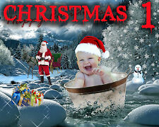 CH1 Christmas Digital Backdrops Backgrounds Templates Phtography Holiday NewYear
