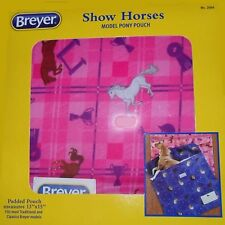 Breyer Show Horses Model Pony Pouch in Pink - Brand New in Box