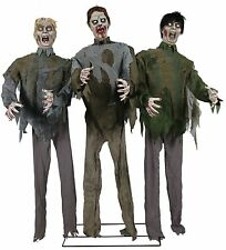 Zombie Horde Animated Halloween Prop