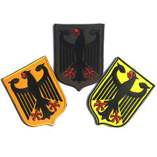 3 PCS GERMAN EAGLE GERMANY ARMY MORALE BADGE TACTICAL PATCHES EMBROIDERED PATCH
