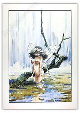 Affiche Offset LOISEL Peter Pan Clochette 50x70