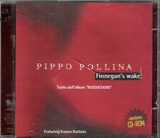 "PIPPO POLLINA - RARO CDs + CD ROM "" FINNEGAN'S WAKE "" FRANCO BATTIATO  SATURNINO"