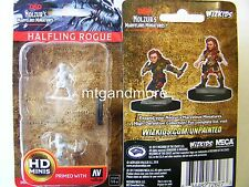 Dungeons & Dragons Nolzur's Marvelous Unpainted Miniatures Halfling Female Rogue