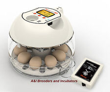 RCOM R-COM Pro10 Plus INCUBATOR FULLY AUTOMATIC built-in Egg Scope WARRANTY