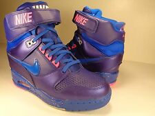 Womens Nike Air Revolution Sky Hi Blue Pink Wedges SZ 7.5 (599410-401)