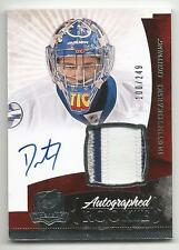 10-11 Dustin Tokarski The Cup Auto Rookie Card RC #147 Jersey Patch 100/249
