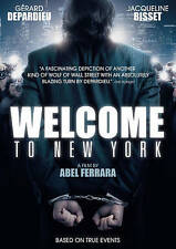 Welcome to New York (DVD, 2015) Gérard Depardieu, Jacqueline Bisset   NEW