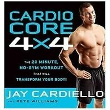 Cardio Core 4x4: The 20-Minute, No-Gym Workout That Will Transform You-ExLibrary