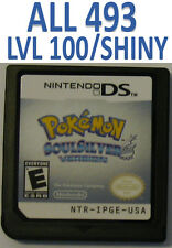 Pokemon Soul Silver Game Unlocked for DS lite DSi XL 2DS 3DS SoulSilver