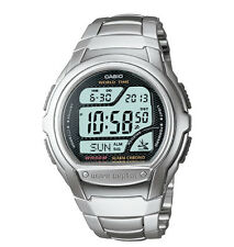 Casio WV58DA-1AV, Digital Waveceptor Watch, Metal Band, Chronograph, Alarm