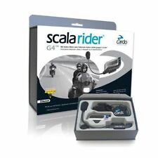 Cardo Scala Rider G4 SOLO Intercom Motorcycle Bluetooth Headset Bike to Bike