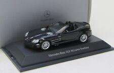 Mercedes benz slr mclaren roadster (2004-2009) negro/Minichamps 1:43