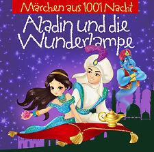 Hörbuch CD Aladin Und Die Wunderlampe  2CDs