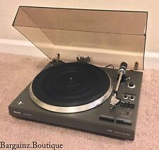 Philips 777 Audiophile Belt Driven Turntable Record Player + ADC LX-II Cartridge