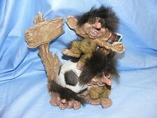 Norwegian Ny Form Troll The Last Two Football Fans Norway Collectable Nyform