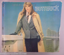 Butterick Patterns CATALOG - 1982 ~~ Large Store Counter Pattern Book