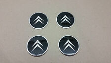 4 Pcs ø 55 mm Citroen Sticker Emblem for aluminum rims and Hub caps