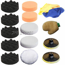 15Pcs Polishing Pad Set for polishing machine polishing sponge car--M14 thread
