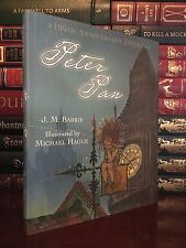 Peter Pan by J.M. Barrie & Illustrated by Michael Hague New Deluxe Hardcover