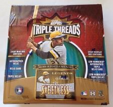 2013 Topps Triple Threads Master HOBBY Box 2 Auto (Trout Harper Machado)?