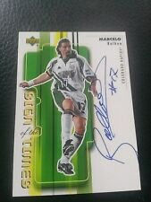 2000 Upper Deck MLS Sign of The Times Autograph - Marcelo Balboa