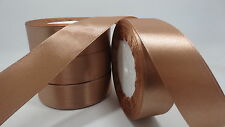 """NEW Gift Wrapping wedding festival Party 5yards 1""""25mm Craft Satin Ribbon T33WPF"""