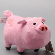 Cute 7inch Gravity Falls Waddles Pink Pig Soft Plush Stuffed TV Toy Mini Dolls