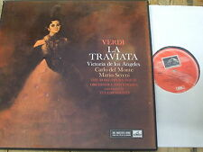 ASD 359-61 Verdi La Traviata / de los Angeles etc. 3 LP box