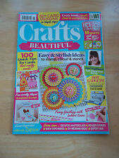CRAFTS BEAUTIFUL MAGAZINE #292 MAY 2016 * 100 QUICK TIPS FOR CARDS STYLISH IDEAS